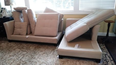 Before & After Upholstery Cleaning in Sacramento, CA (2)