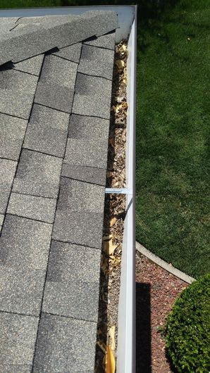 Before & After Gutter Cleaning in Roseville, CA (1)