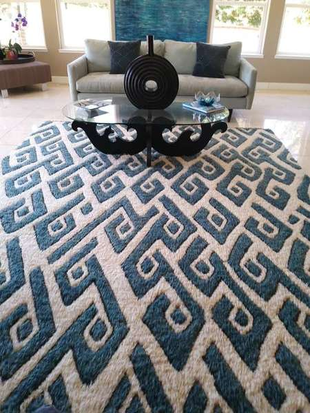 Another Beautiful Area Rug Cleaning in Carmichael, CA (1)