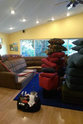 Upholstery Cleaning at Memory Care in Sacramento, CA (1)