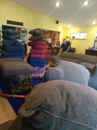 Upholstery Cleaning at Memory Care in Sacramento, CA (2)