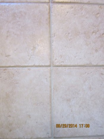 Before and After Tile & Grout Cleaning Cool, CA