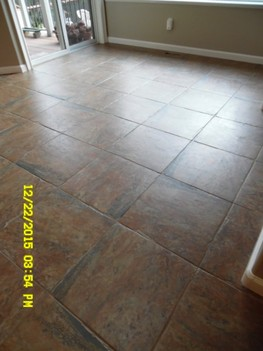 Tile & Grout Cleaning Kitchen/Dining Room